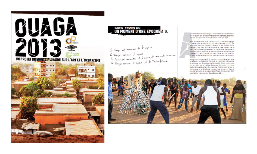 BROCHURE 28 PAGES OUAGA 2013 GOETHE INSTITUT