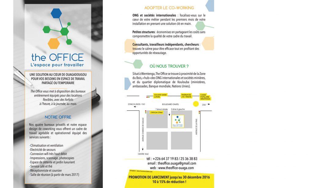 the office flyer ouagadougou co-working